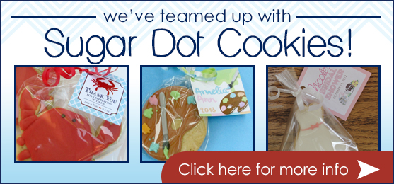 We've Teamed Up With Sugar Dot Cookies